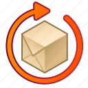 box, expectancy, cube, parcel, processing, time, order