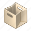 bag, box, cube, empty, paper, shop, shopping icon