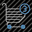 basket, buy, internet, online, optimization, order, seo icon