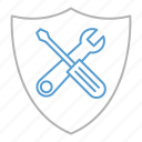 optimization, protect, protection, security, seo, tools icon