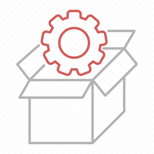 delivery, package, seo, web icon