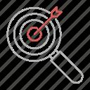 keyword, target, bullseye, focus, goal
