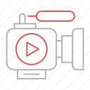 camera, marketing, movie, optimization, seo, video icon