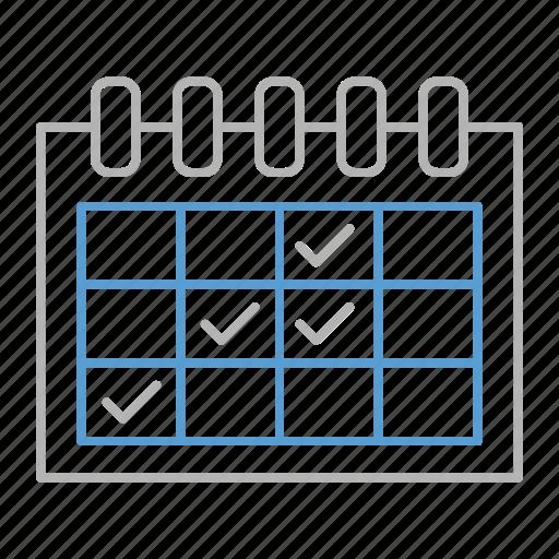 calendar, event, events, schedule icon