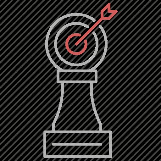 audience, focus, goal, marketing, seo, target icon