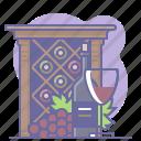 bottle, culinarium, glass, grapes, restaurant, sommelier, wine