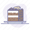 cake, cooking, culinarium, food, gateau, pastry, patisserie icon