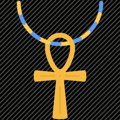 civilization, country, cross, culture, egypt icon