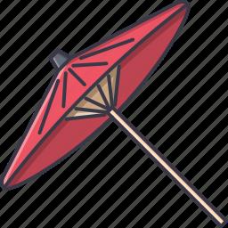civilization, country, culture, japan, umbrella icon