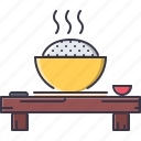 civilization, country, culture, food, japan, rice icon