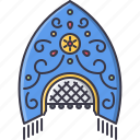 civilization, country, culture, headdress, kokoshnik, russia icon