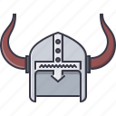 civilization, country, culture, helmet, horn, viking icon