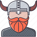 civilization, country, culture, helmet, viking icon