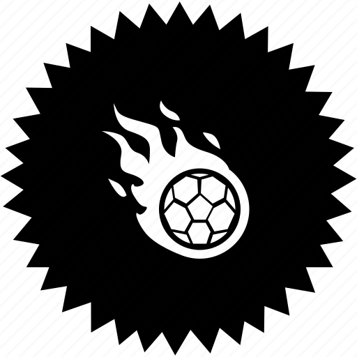 ball, fire, fly, football, game, soccer icon
