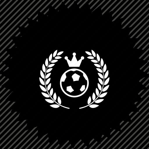 ball, club, football, royal icon