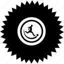ball, football, man, play, round icon