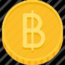 thai baht, baht, money, coin, currency