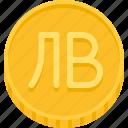 currency, money, coin, bulgaria lev, lev, tenge, kazakhstan tenge