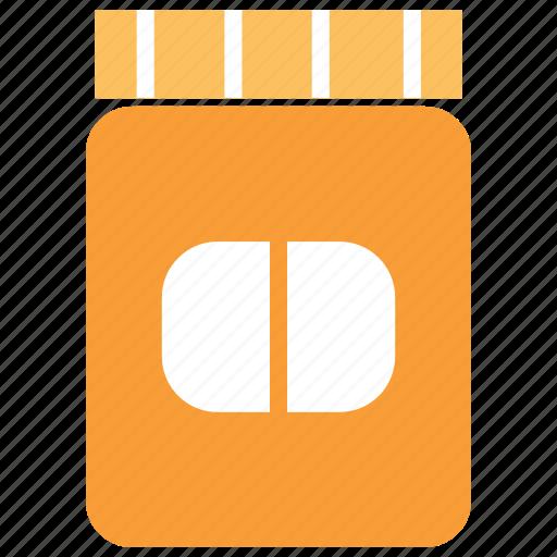 Bottle, drug, drug bottle, drug container, medicine, pills, pills container icon - Download on Iconfinder