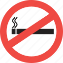 alert, danger, no smoking, smoking, smoking kill, warning icon