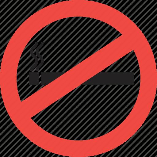 alert, danger, no smoking, smoking, smoking kill, warning icon