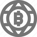 bitcoin, network icon