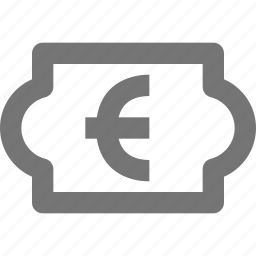 currency, euro, money, price icon
