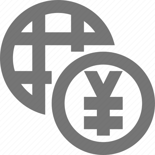 currency, finance, global, international, money, payment, world, yen icon