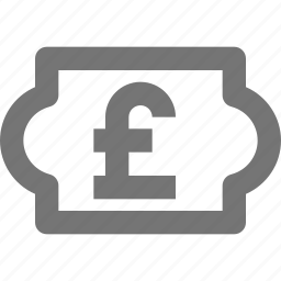 currency, money, pound, price icon