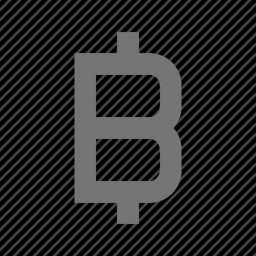 bitcoin, sign icon