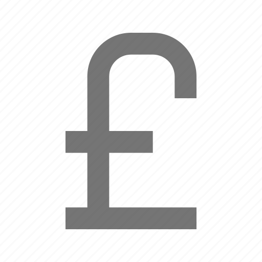 currency, money, pound, sign icon