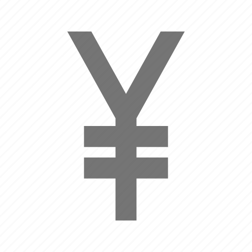 currency, finance, money, payment, sign, stock, yen icon