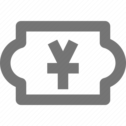 currency, money, price, yen icon