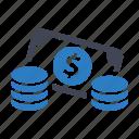 cash, income, profit icon
