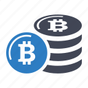 bitcoin, currency, digital money icon