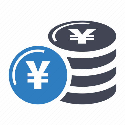 Coin, currency, yen icon - Download on Iconfinder
