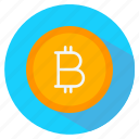 bitcoin, coin, currency, digital money, payment icon