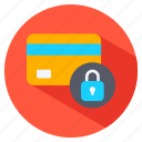 card, credit, payment, secure icon