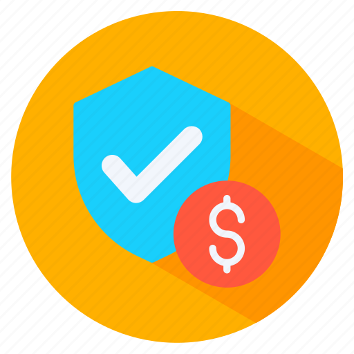 dollar, protect, sign, trust icon