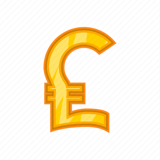 Bank, cartoon, cash, currency, money, pound, sign icon - Download on Iconfinder