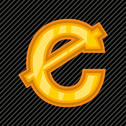 business, cartoon, cash, cedi, currency, ghanaian, money icon