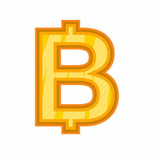 Baht, bitcoin, cartoon, cash, currency, money, thailand icon - Download on Iconfinder