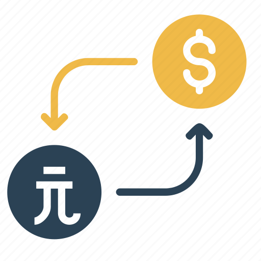 conversion, currency, dollar, exchange, money, taiwan icon