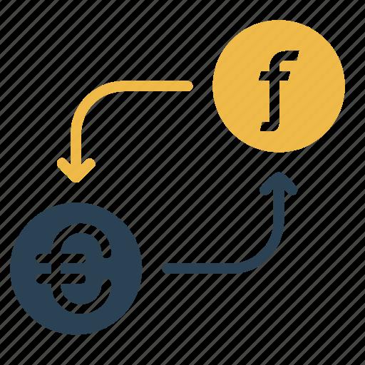 conversion, currency, dutch, euro, finance, guilder, money icon