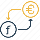 conversion, currency, dutch, euro, guilder, money, to icon