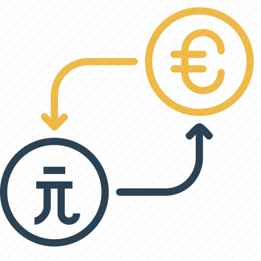 conversion, currency, dollar, euro, money, taiwan, to icon