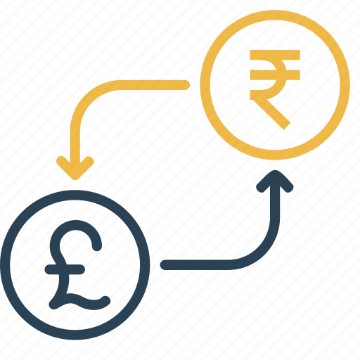 conversion, currency, money, pound, rupee, to, uk icon