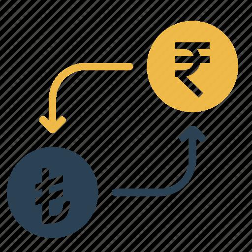 conversion, currency, exchange, lira, money, rupee, turkey icon