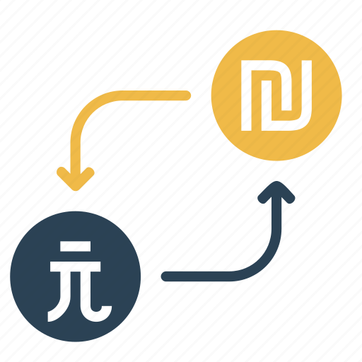 conversion, currency, dollar, money, shekel, taiwan, to icon