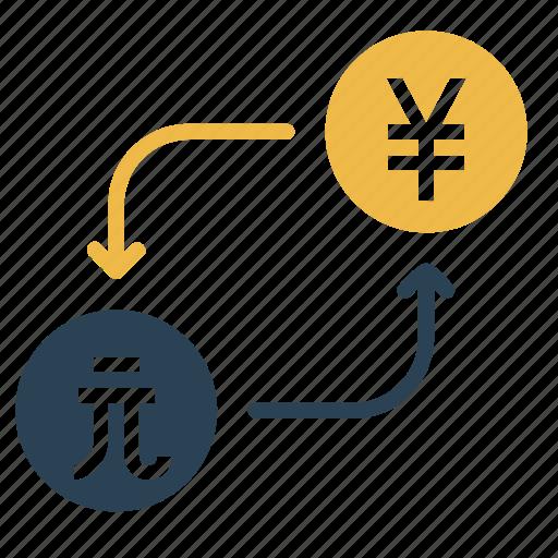 conversion, convert, currency, dollar, money, taiwan, yen icon